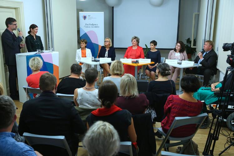 Předvolební debata Aliance pro individualizovanou podporu AIP